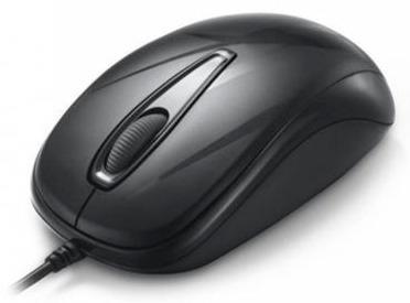 mouse ergonómico ratón usb optico delux mi07 1000dpi negro