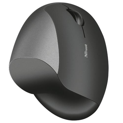mouse ergonómico trust varo inalambrico diseño vertical