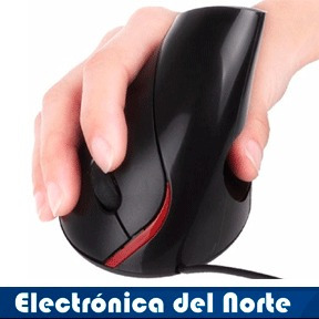 mouse ergonomico vertical alambrico usb para pc laptop nuevo