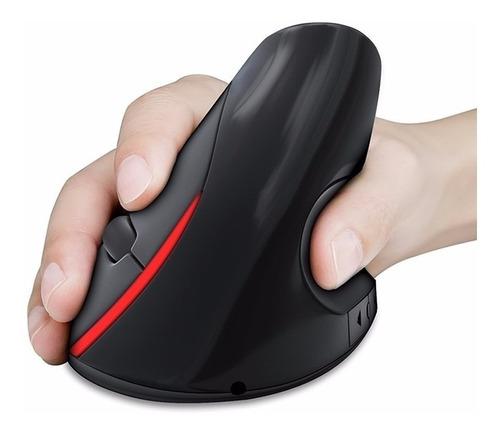 mouse ergonomico vertical inalambrico recargable.