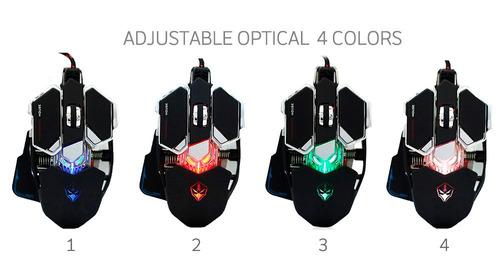 mouse gamer 10 botones profesional g10 luces envio gratis !!