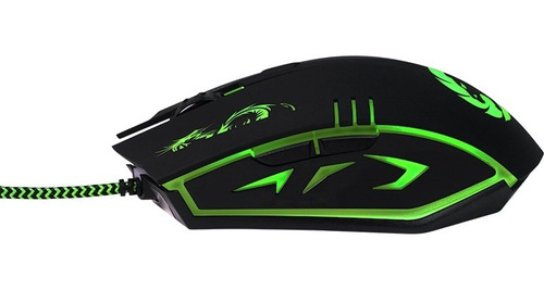 mouse gamer 3200 dpi backlight 4 cores gamemax mg386 kit-2