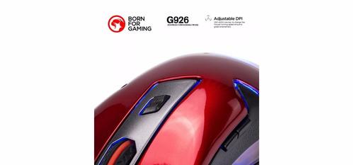 mouse gamer 4000 dpi configurable + tapete de regalo + envio