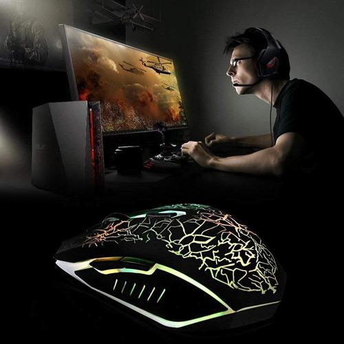 mouse gamer 6 botones led gaming oferta