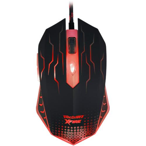 mouse gamer 7 bot. 3200 dpi led vermelho xfire tecdrive wuxi