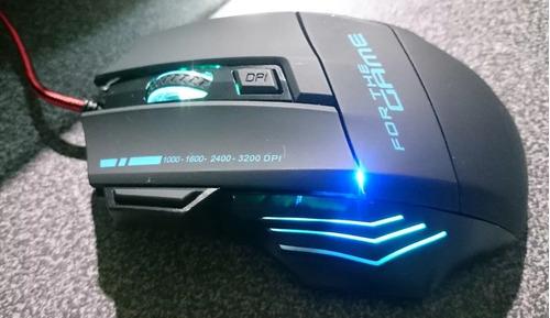 mouse gamer 7 botones 3200 dpi cambia colores video juegos