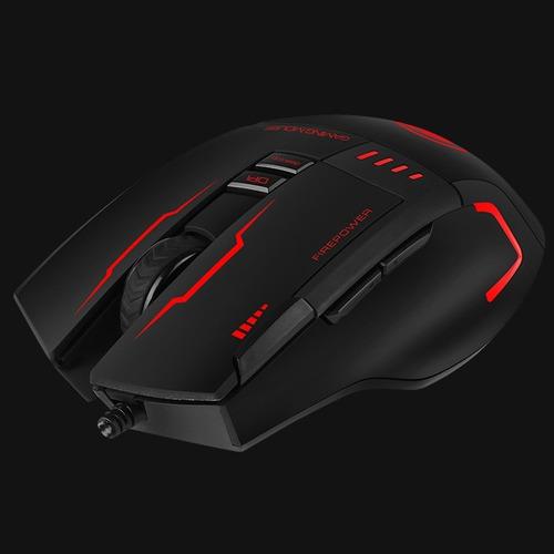 mouse gamer 8d marvo g909h óptico : grupo e-byte