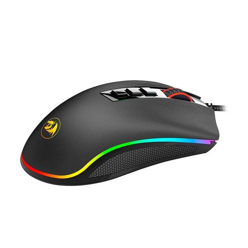 mouse gamer alámbrico redragon m711 cobra