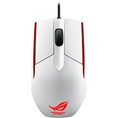 mouse gamer asus rog sica gaming 5000dpi fps 30g blanco htg2
