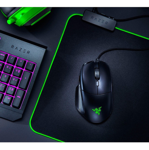 mouse gamer basilisk essential rgb sensor optico fps razer