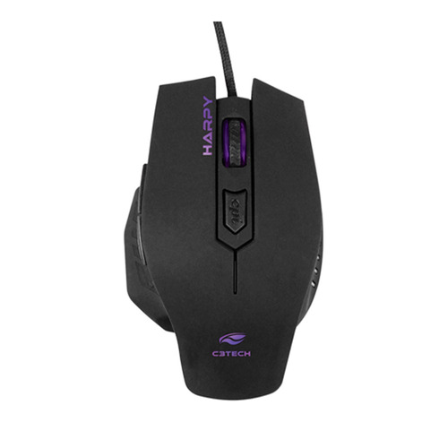 mouse gamer c3tech mg-100bk 3200 dpi | preto
