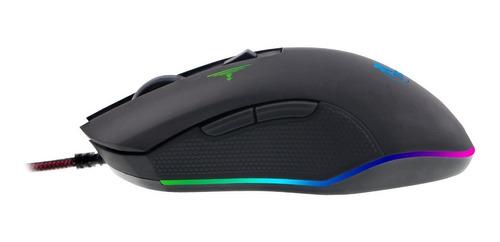 mouse gamer con 6 botones xtech xtm-710 blue venom 3200 dpi