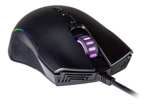 mouse gamer cooler master cm310, rgb, 10.000 dpi, 8 botones