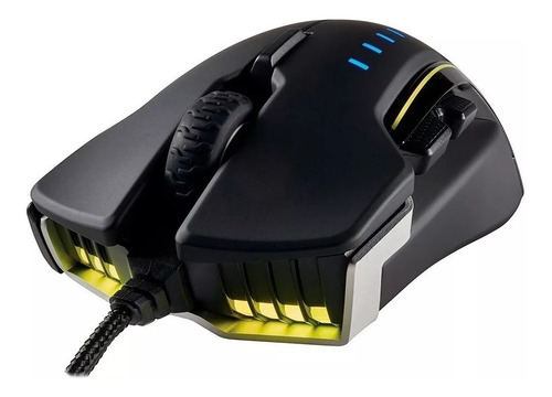 mouse gamer corsair glaive rgb 16.000 dpi lateral removible