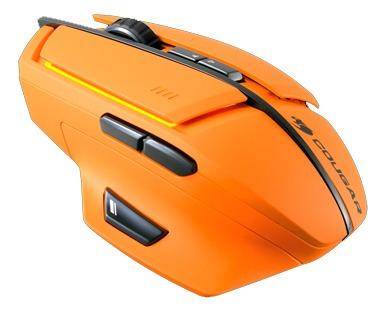 mouse gamer cougar 600m naranja - tecsys