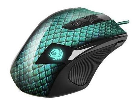 mouse gamer drakonia sharkoon 11 botões 5000 dpi laser