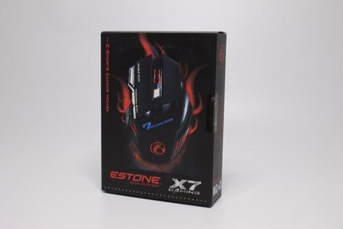 mouse gamer - estone x7
