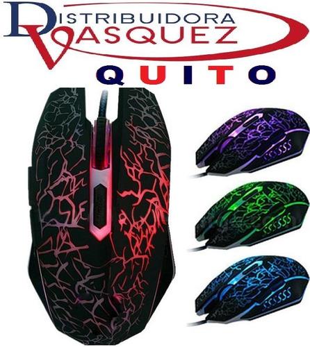 mouse gamer experto retroiluminado 7 botones ergonomico
