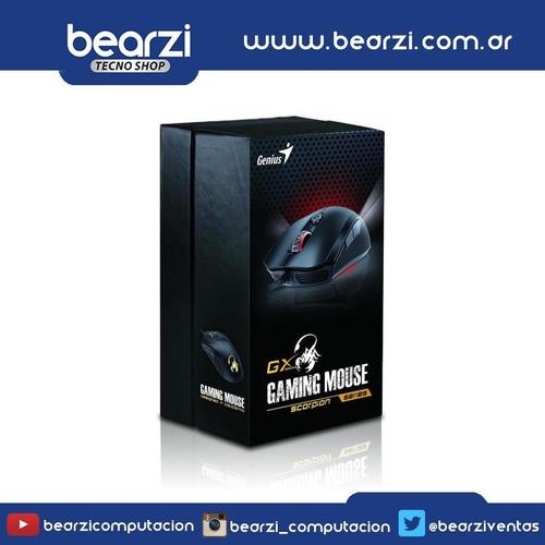mouse gamer genius gx scorpion m6 400***