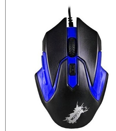 mouse gamer gx-57 hoopson azul