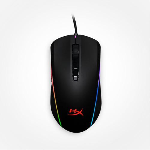 mouse gamer hyperx pulsefire surge rgb 360° 16000dpi preto