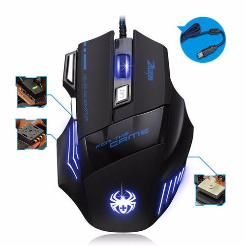 mouse gamer  increible  7200 dpi 7 botones