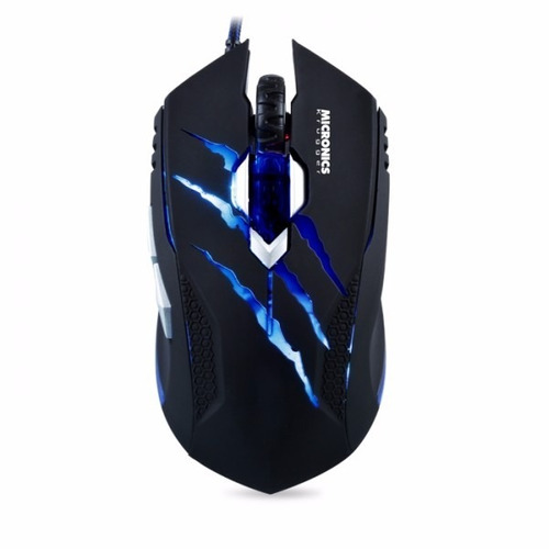 mouse gamer led micronics krugger lince