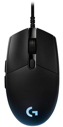 mouse gamer logitech g pro, 16 000 dpi, 6 botones programabl