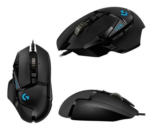 mouse gamer logitech g502 hero 16000dpi 11bot rgb usb envios