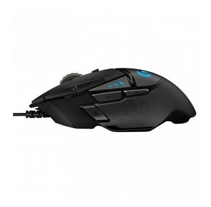 mouse gamer logitech g502 hero preto
