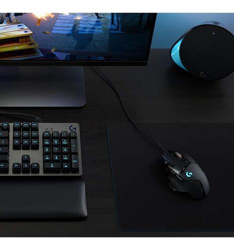 mouse gamer logitech g502 sensor hero light dpi 16000 pc