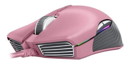 mouse gamer optico razer lancehead quartz edition rosa htg