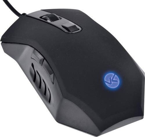 mouse gamer optico vinik vx snake led azul