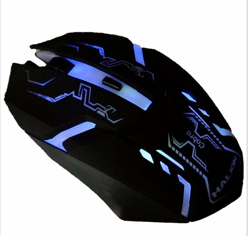 mouse gamer + pad mouse gamer halion nuevo facturado