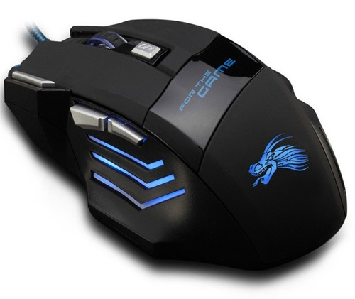 mouse gamer pro con cable usb x3 x3