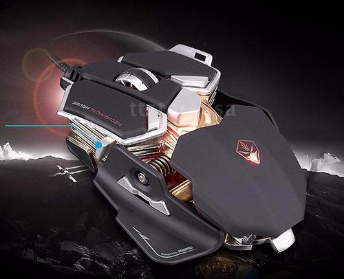 mouse gamer pro luom g10 4000 dpi 10 botones programables