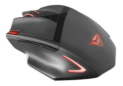 mouse gamer ranoo trust gxt 130 inalambrico 9 botone - trust