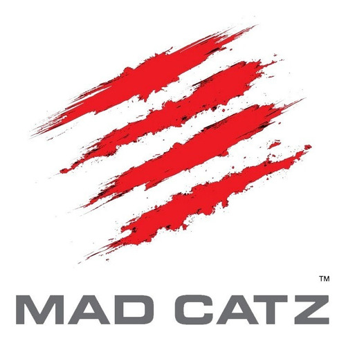 mouse gamer rat 6 plus mad catz 12000dpi usb led profesional