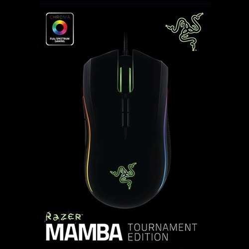 mouse gamer razer mamba tournament edition chroma
