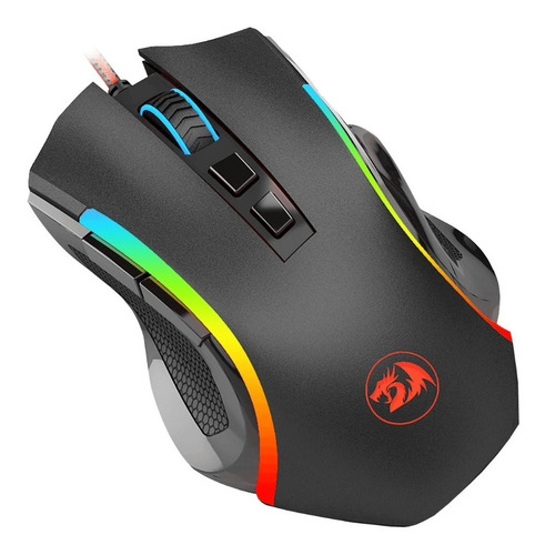 mouse gamer redragon griffin m607 rgb cminformatica