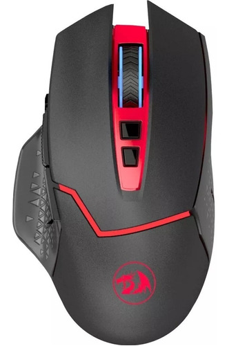 mouse gamer redragon m690 mirage inalambrico hasta 4800 dpi