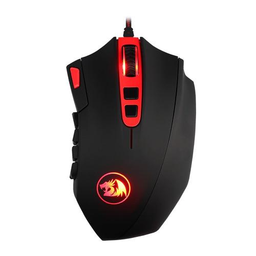 mouse gamer redragon m901 rgb perdition 2 hasta 24000 dpi