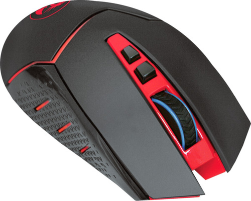 mouse gamer redragon mirage m690 inalambrico 4800dpi led pc