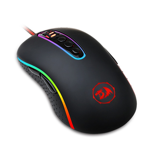 mouse gamer redragon phoenix 2 10000 dpi rgb, m702-2