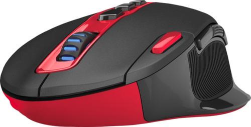mouse gamer redragon shark m688 inalambrico 7200dpi led pc