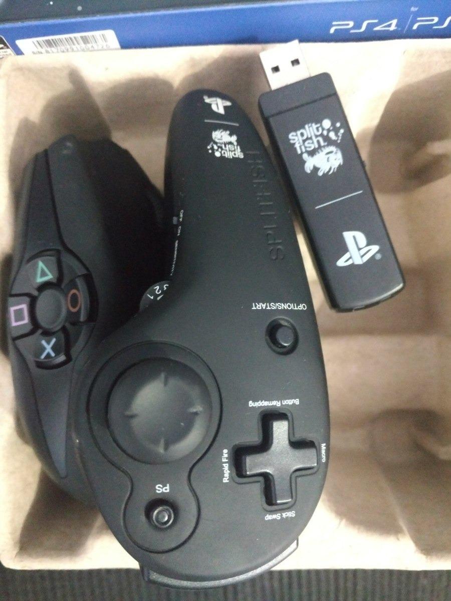 Mouse Gamer Splitfish Fragfx Shark Ps3 E Ps4 E Venom X4