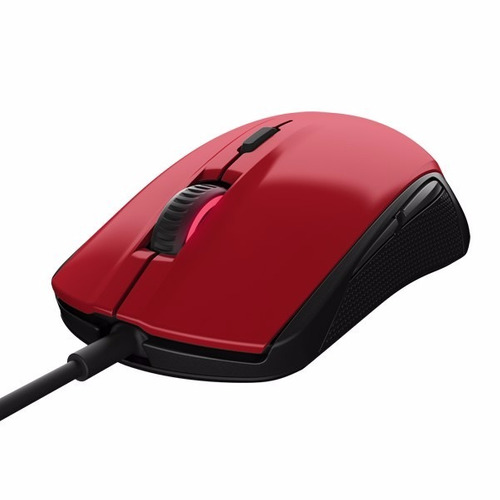 mouse gamer steelseries rival 100 prism rgb forged red