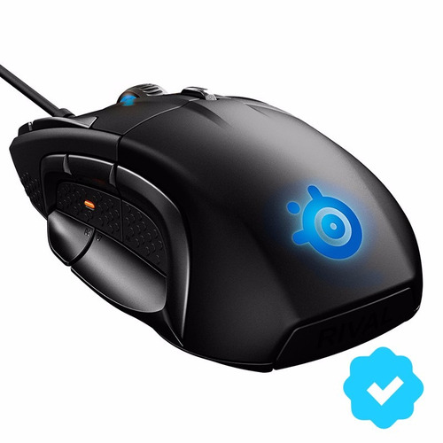 mouse gamer steelseries rival 500 moba mmo