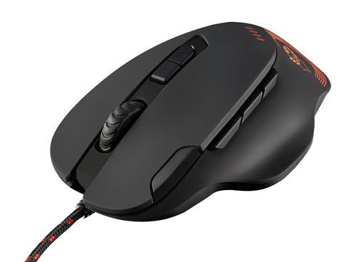 mouse gamer trust gaming gxt 162 optical led 9 botones htg