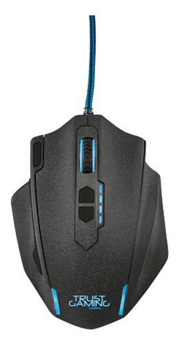 mouse gamer trust gxt 155 gaming - negro